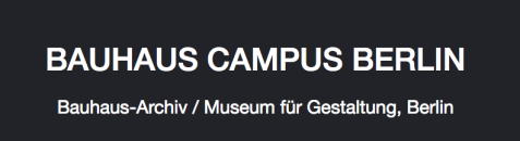 Bauhaus Campus Berlin